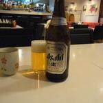 龍明樓 - ビンビール 550円
