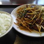 中華食酒館 天一坊 - レバニラランチ