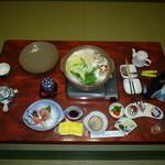 民宿マルキ - 夕食
