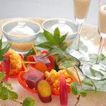 祇園 岩元 - 料理写真:季節を感じる前菜