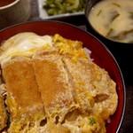 川上屋 - 料理写真:カツ丼