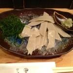 三里 - そばさしみ(680円)