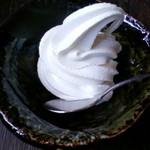 16287827 - 豆乳ソフトクリーム