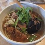 麺酒喰処 麺人 - バーコー麺・大盛り