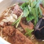 麺酒喰処 麺人 - 肉の量が明らかに少なすぎ!!