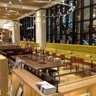 鶴屋・東館1FPARKTERiAのカフェ