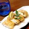杏 - 料理写真:カニクリーム湯葉包み揚げ