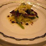 パノラミックレストラン ル・ノルマンディ - 本日入荷した鮮魚、シェフスタイル この日はアイナメ