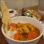 ヒナタ屋 - 野菜カレーセット
