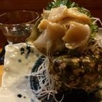 天晴 - 料理写真:夜光貝刺身