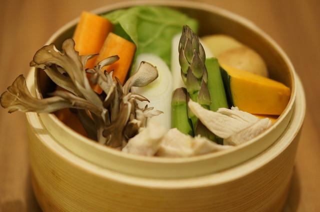 やきとり 土筆 - 【冬のイチオシ】栄養満点の蒸し野菜は特製アンチョビソースでどうぞ