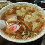 北京亭 - ワンタンメン550円