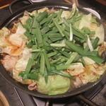大平楽 - ホルモン鍋(小)
