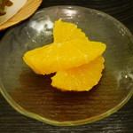 16293485 - オレンジのマリネ(単品だと\300)