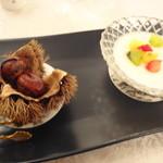 銀座 飛雁閣 - デザート2種