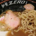 麺屋ZERO1 - 新節系らーめん 680円