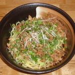 らぁめん 想縁 - 料理写真:一度食べるとやみつきに★汁なし坦々麺 780円