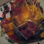 ダディーズ - 鮪とアボガドと山芋のユッケ風