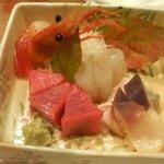 蔵寿司 本店 - 刺身盛り合わせ