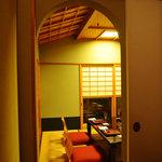 神楽坂 前田 - 静かな個室でゆったりと