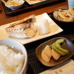 里の宿 - 【ランチ】真鯛の塩焼き¥1000