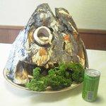 寿司割烹友起 - 料理写真:名物!まぐろ兜焼