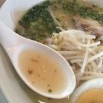 えびすラーメン - 透き通ったスープ