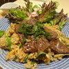 ミタクール - 料理写真:特製バラスライス醤油辛味