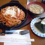 ビボ - 「スパゲティーセット」550円