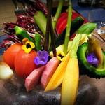 16304815 - 色とりどりの野菜。何とも華やかです。