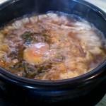 二代目光正 - 石焼きつけ麺(つけ汁)