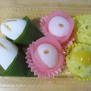 喜久屋本舗 - 料理写真:今回購入した和菓子3種類。