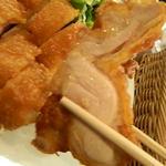 16309705 - 鶏一枚肉の山賊揚げ