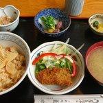 菊水 - 季節限定「筍ご飯定食」
