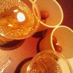 ワインバー カデンツァ - 本町フリーパス:スパークリングワイン&オリーブ