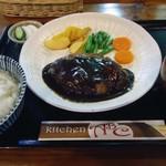 キッチンABC - 「ハンバーグ」1,000円也。