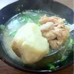 元町通り3丁目 - 2012.12.11 豚汁の具・リフト