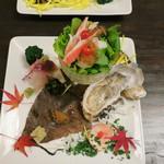 うなぎ屋酒坊・画荘 越後屋 - 前菜 (2012/12)