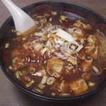 中華料理 大衆 福州居酒屋 - 麻婆豆腐麺