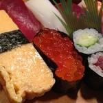和幸寿司 - 料理写真:2012,12,12 1,365円の上寿司握り