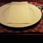 リストランテ シャイー - 良い色のテーブルクロス