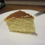ビオバル弘前 - おまけでいだだいたチーズケーキ