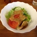 ターカリー - ランチセットのサラダ