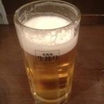 鳥まつ - ビール