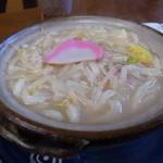 うどん処おいやん - 料理写真:ちゃんぽんうどん600円