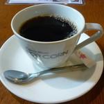 ポップコーン - ブレンドコーヒー(400円)