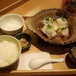 大戸屋 - チキンかあさん煮土鍋定食