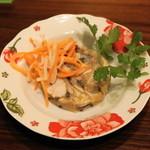 ベトナムちゃん - 2012.12 ミミガーときくらげの特製煮こごりハム(500円)