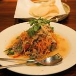 ベトナムちゃん - 2012.12 牛肉としゃきしゃきフレッシュハーブのサラダ(1,200円)
