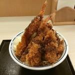 かつや 名古屋丸の内店 - 海鮮フライ丼!